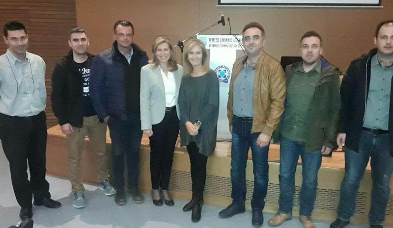Συνάντηση Αστυνομικών της Ορεστιάδας με την Διευθύντρια της Διεύθυνσης Εγκληματολογικών Ερευνών