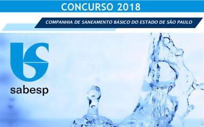 Concurso SABESP SP 2018