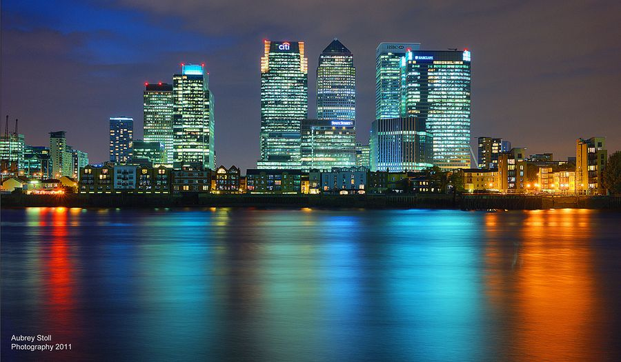 15. Canary Wharf (London) by Aubrey Stoll