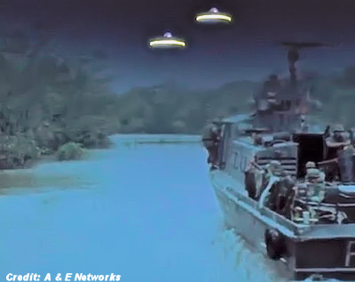 UFOs Confront Soldiers During War
