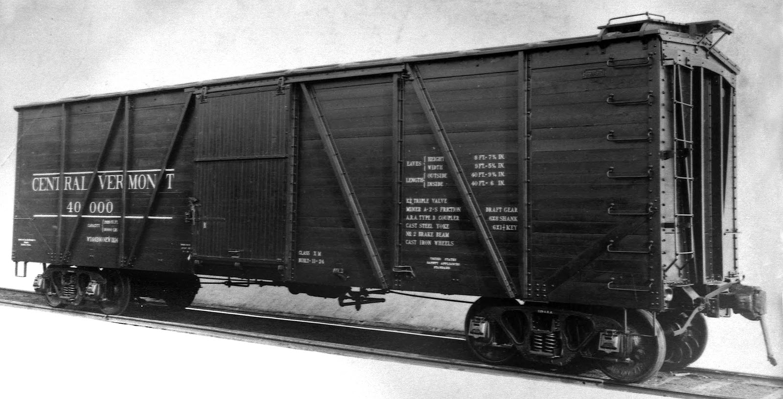 Modeling Steam Era Freight Cars: Central Vermont 40,000