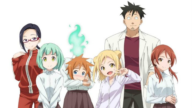 Demi-chan wa Kataritai - Top Fantasy School Anime List