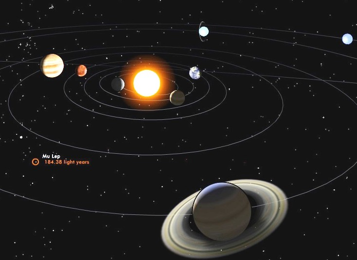 solar system vertical line pics about space - 734×536