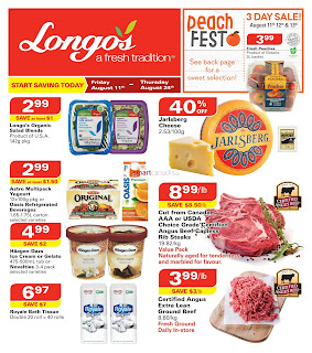Longos Weekly Flyer August 11 – 24, 2017