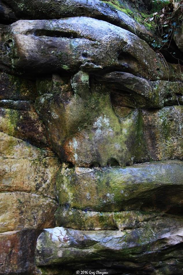 Le Moaï de l'Eléphant, Larchant, (C) Greg Clouzeau
