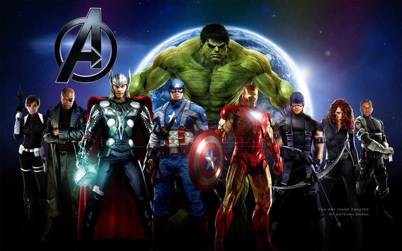 new-blog-pics: The Avengers Wallpaper