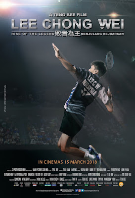 Lee Chong Wei, Biopic Film, Filem Biopik, Biografi, Lee Chong Wei Movie, Filem Lee Chong Wei, 2018, Lee Chong Wei Cast, Pelakon Filem Lee Chong Wei, Tosh Chan, Jake Eng, Mark Lee, Yeo Yann Yann, Rosyam Nor, Ashley Hua, Sukan, Badminton, Filem Berdasarkan Kisah Benar, Kisah Hidup Dato Lee Chong Wei, Lin Dan, Teng Bee Film, Sinopsis Filem Lee Chong Wei, OST Lee Chong Wei,