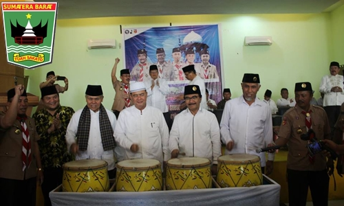 Padang Launching Didikan Subuh Berbasis Pramuka, Ini Pesan Wagub Nasrul Abit