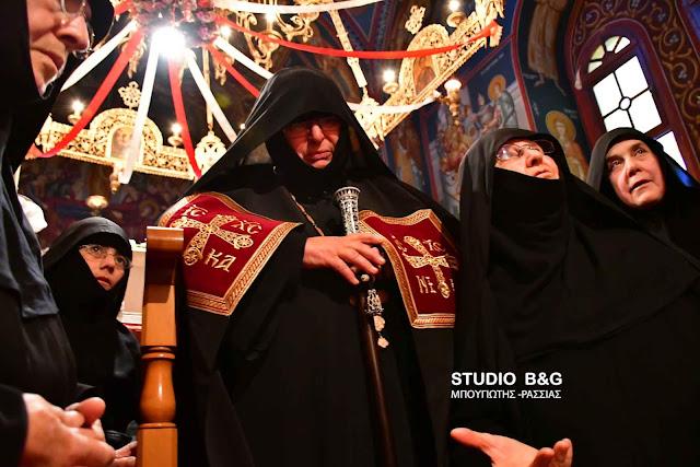 Η μοναχή Χριστονύμφη ενθρονίστηκε ηγουμένη στην Ιερά Μονή Αγίου Δημητρίου Καρακαλά (βίντεο)