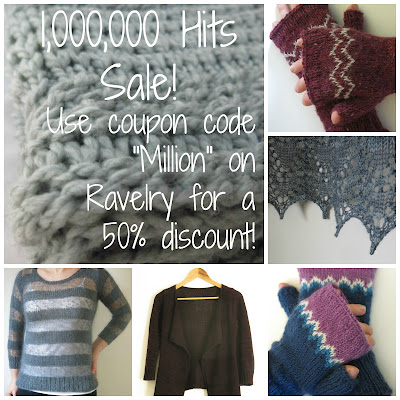 knitting pattern sale