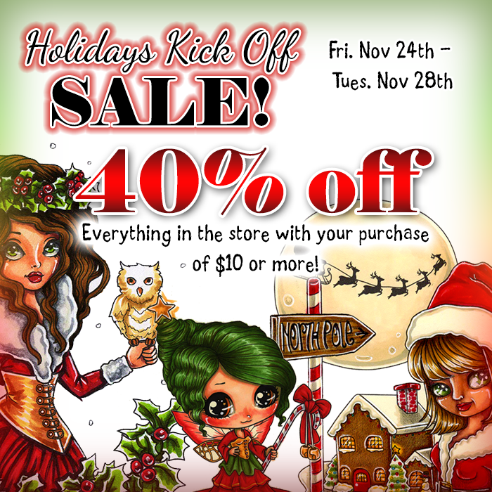 40% off all weekend long!
