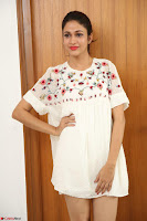 Lavanya Tripathi in Summer Style Spicy Short White Dress at her Interview  Exclusive 279.JPG