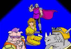 Teenage Mutant Ninja Turtles+arcade+game+portable