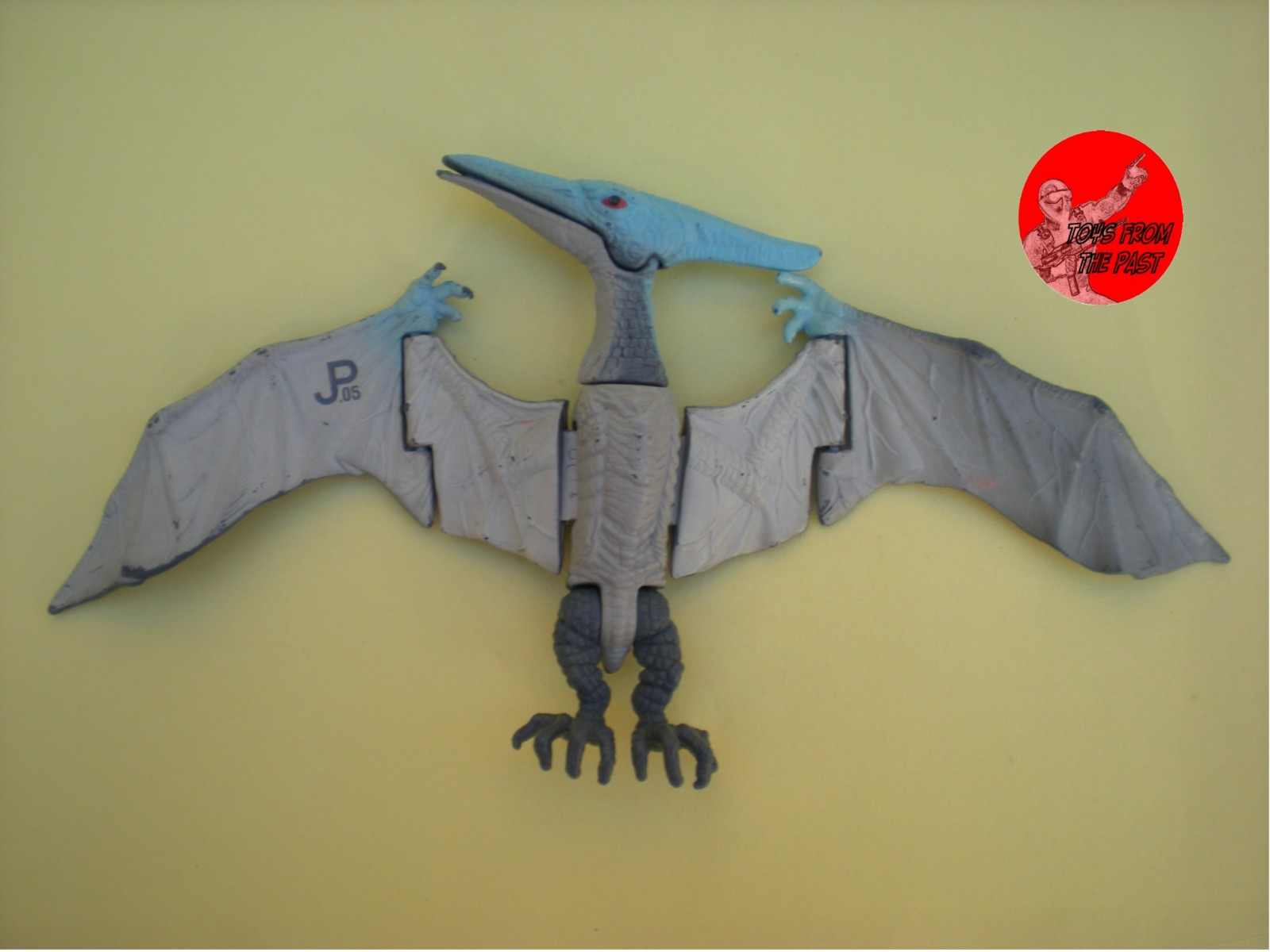 toys from the past 184 jurassic park � dimetrodon and