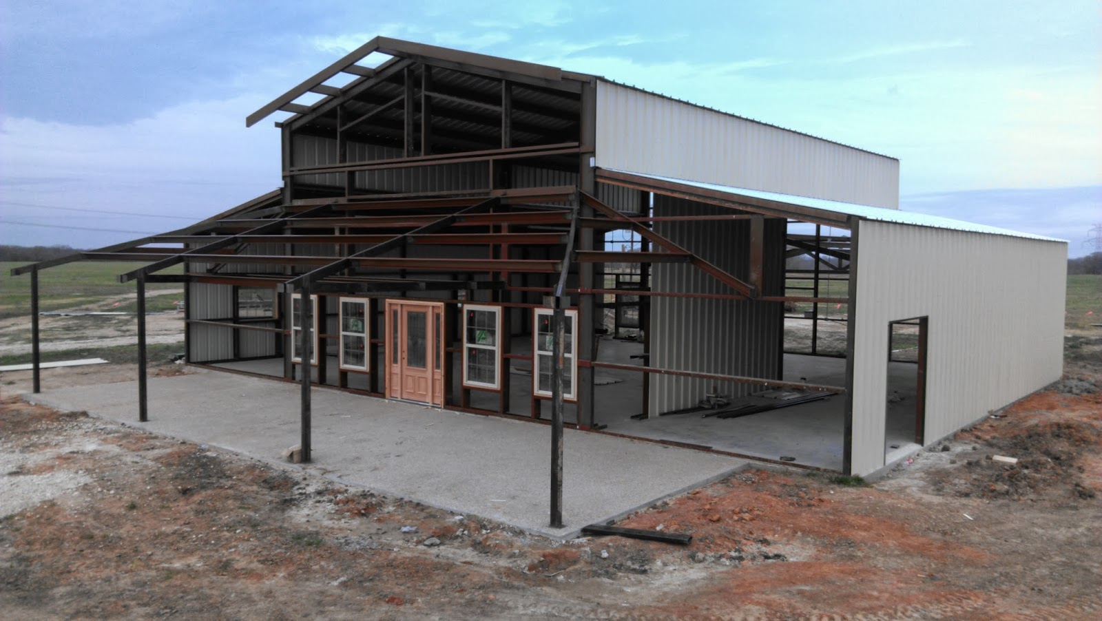 Weld House Homes More About That Barndominium