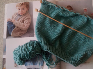 tricot gilet 4 ans