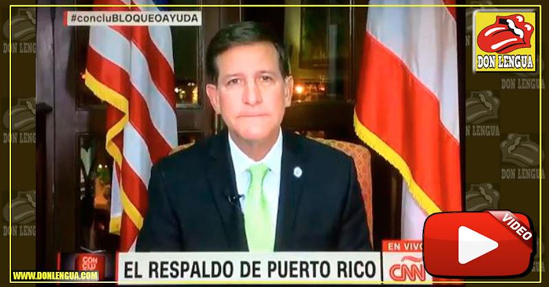 Aterrizó avión con ayuda humanitaria de Puerto Rico pero nadie lo ha visto