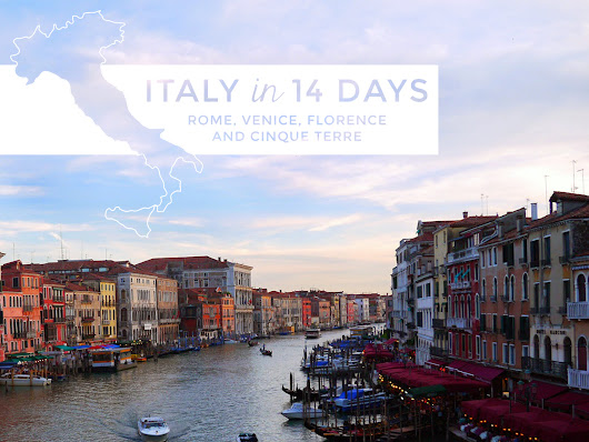 My 14-Day Italy Itinerary: Rome, Florence, Cinque Terre + More! - shelly in real life