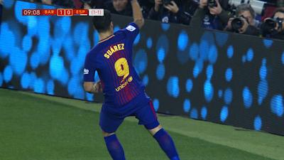 CDR-08 Barcelona 2 vs 0 Espanyol 25-01-2018