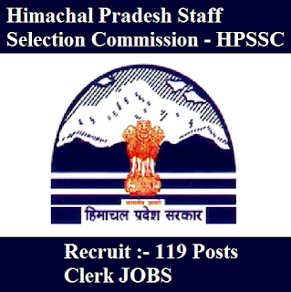 Himachal Pradesh Staff Selection Commission, HPSSC, freejobalert, Sarkari Naukri, HPSSC Answer Key, Answer Key, hpssc logo