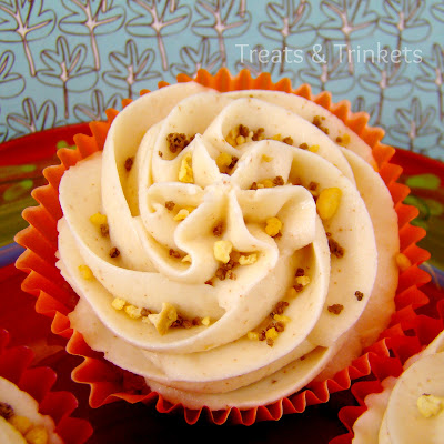 Butternut Squash Cupcake Cake