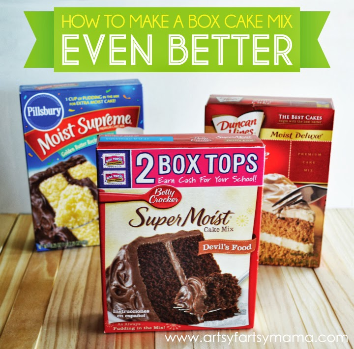 Substitutions In Box Cake Mix