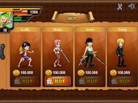 One Piece Hashoku Haki Mod Apk v1.1 Unlimited Money