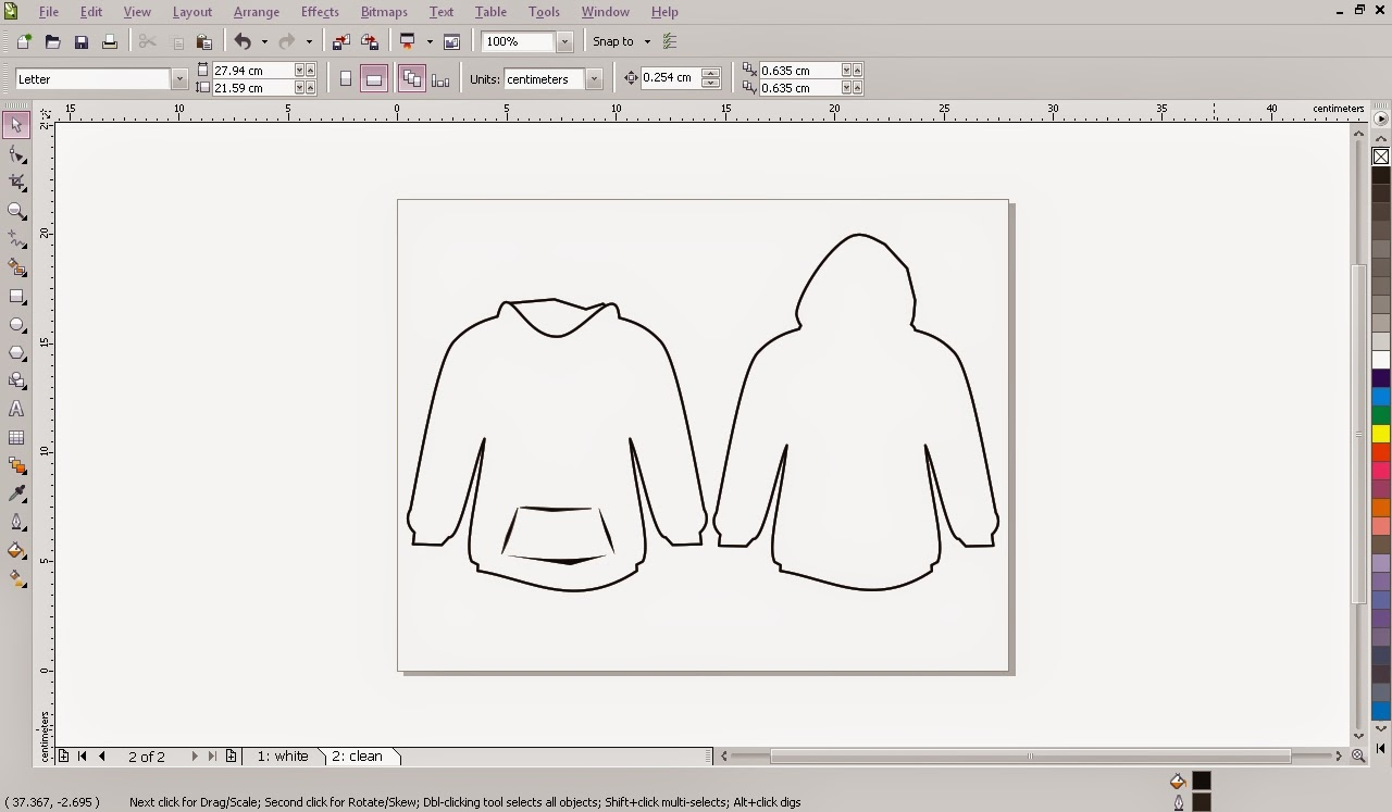 Download Sketsa Gambar Di Corel Draw