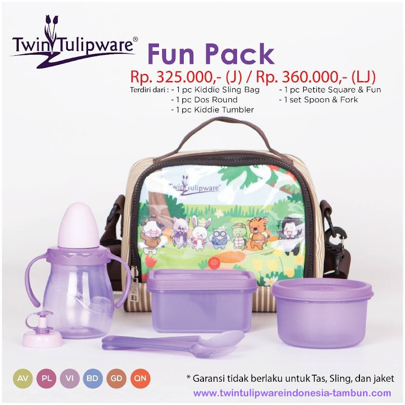 Fun Pack - Katalog 2017 Twin Tulipware