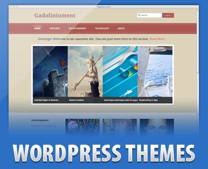 Gadoliniument Free WordPress Theme