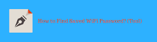 Find Saved WiFi Password using Third-Party Tool | WirelessKeyView