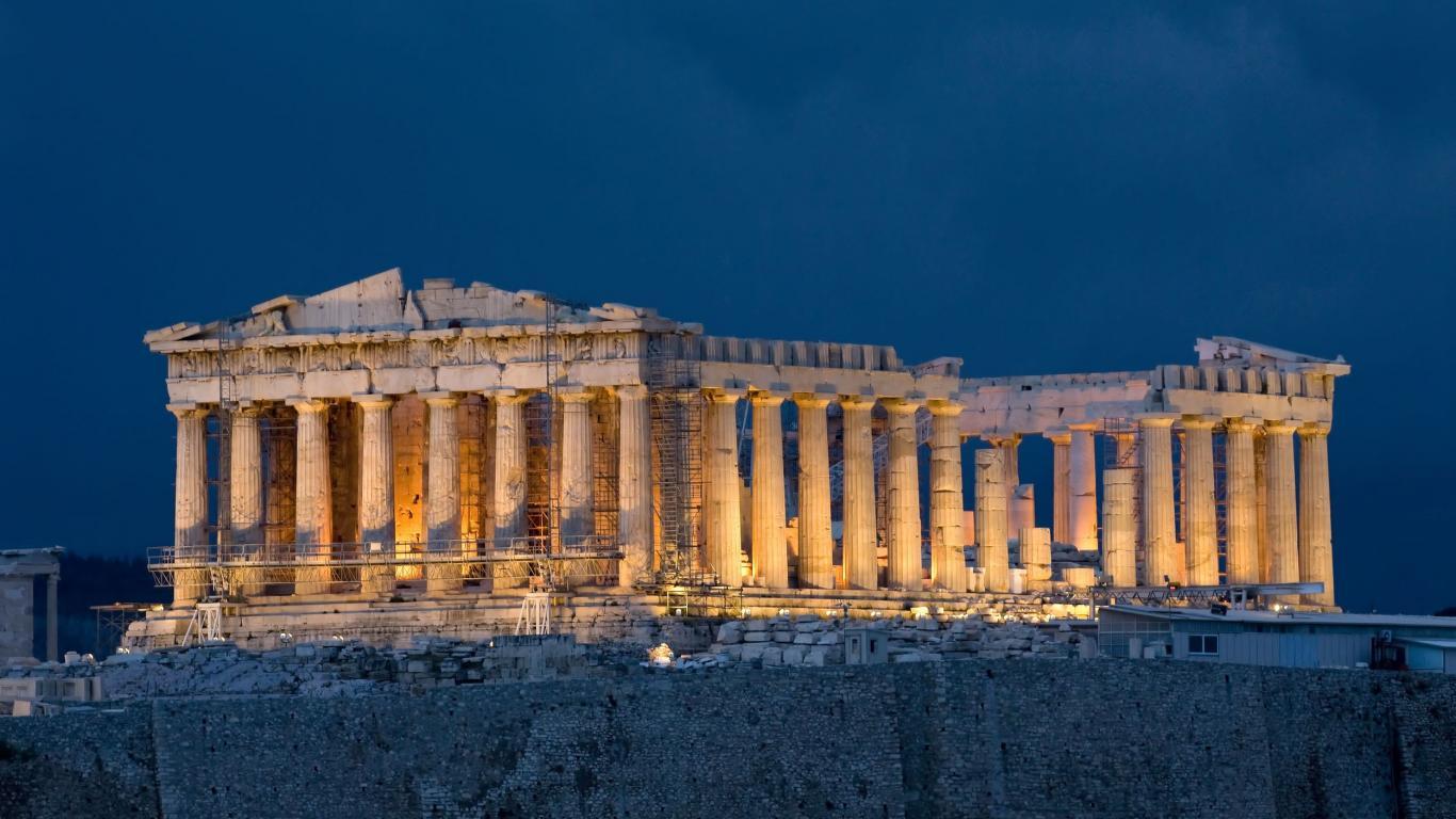 Acropolis,Greece HD Background