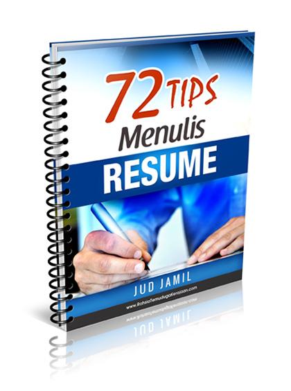 Tips Dan Panduan Menulis Resume Untuk Menghadiri Temuduga