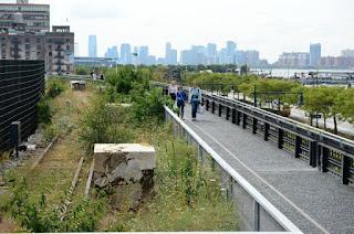 Paseo por lel High Line Park de Nueva York