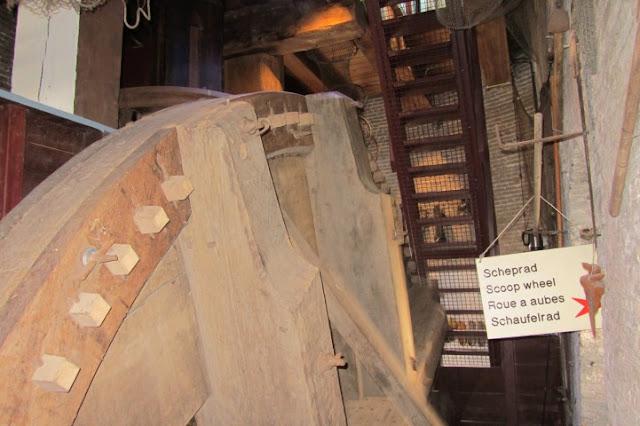 Kinderdijk - molenrad molen Nederweerd