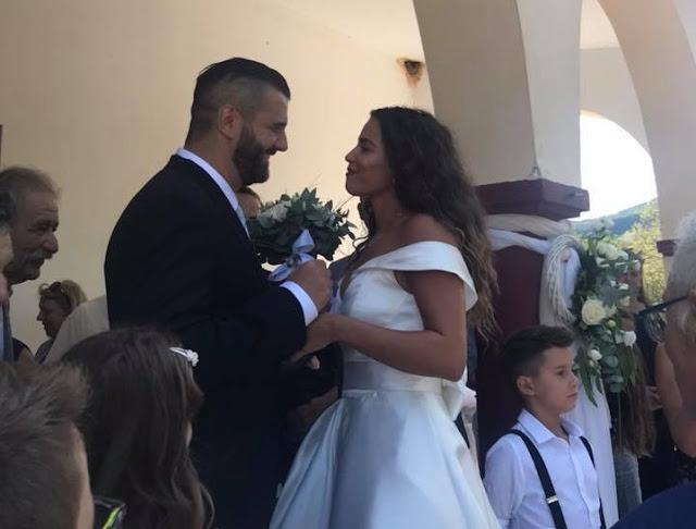 Θεσπρωτία: Πραγματοποιήθηκε ο γάμος της Κατερίνας Στικούδη με τον Βαγγέλη Σερίφη (+ΦΩΤΟ)