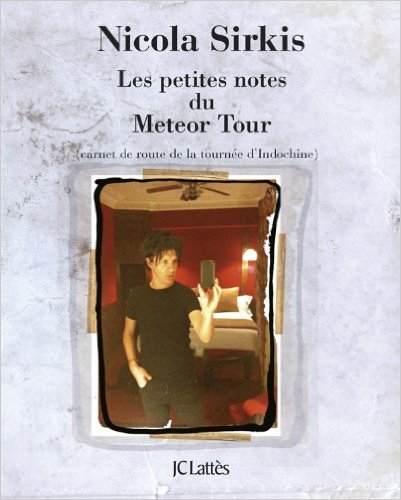 Libro: Les petites notes du Météor Tour - Nicola Sirkis