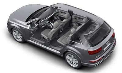 Audi SQ7 4x4 7 places vue extérieure