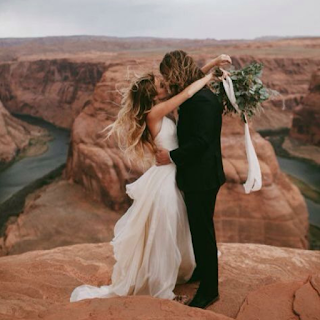 Photos de mariage à Las Vegas et Grand Canyon blog mariage www.unjourmonprinceviendra26.com
