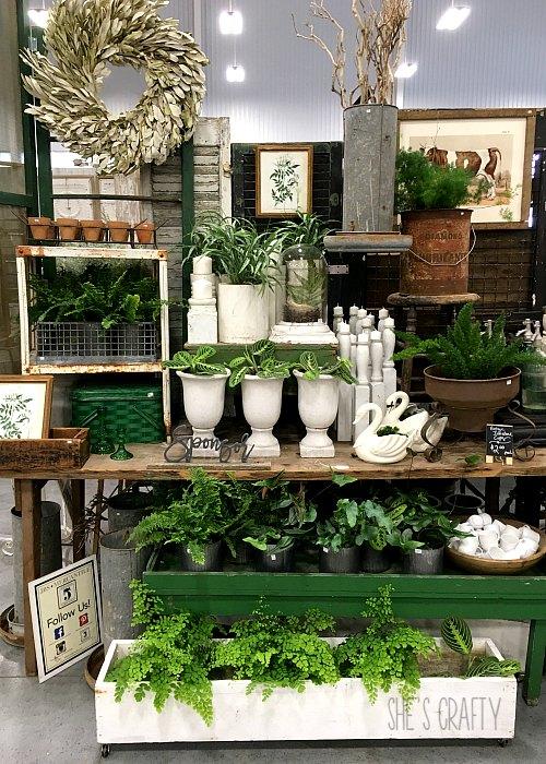jenni bowlin studio, planters, vintage candlesticks