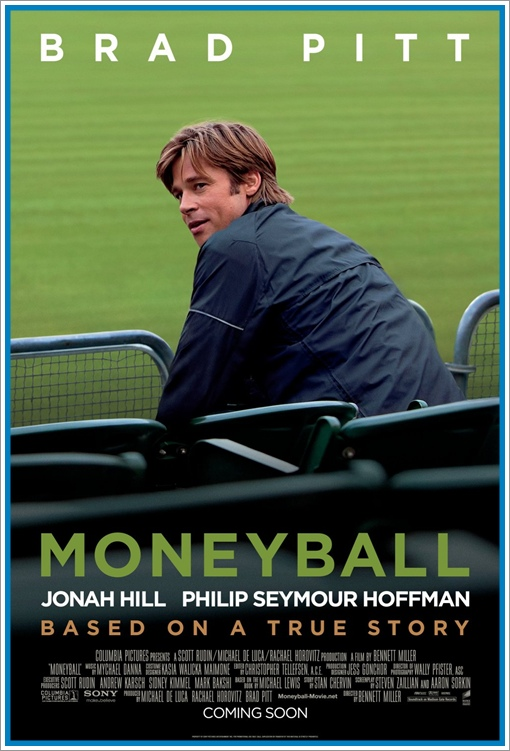 Moneyball Poster, Oscar Predictions