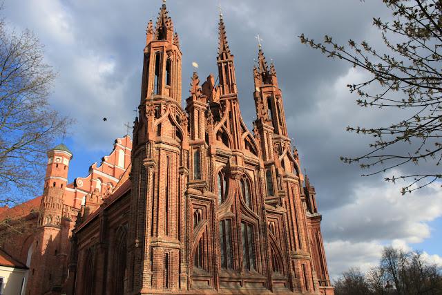 Iglesia de Santa Ana - Vilnius, Lituania