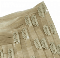 PU seamless clip-in hair extensions