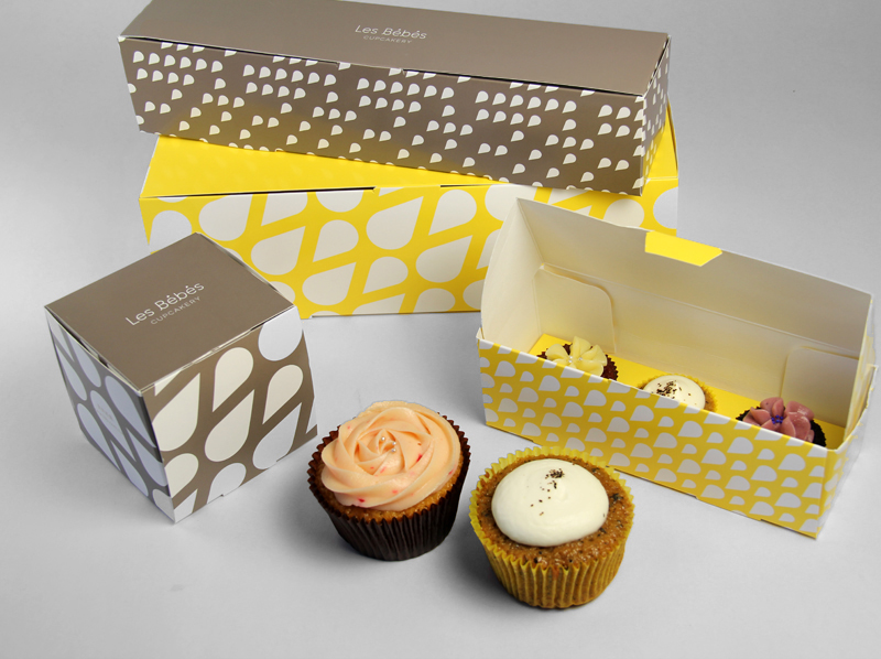 Les Bébés Cupcakery On Packaging Of The World