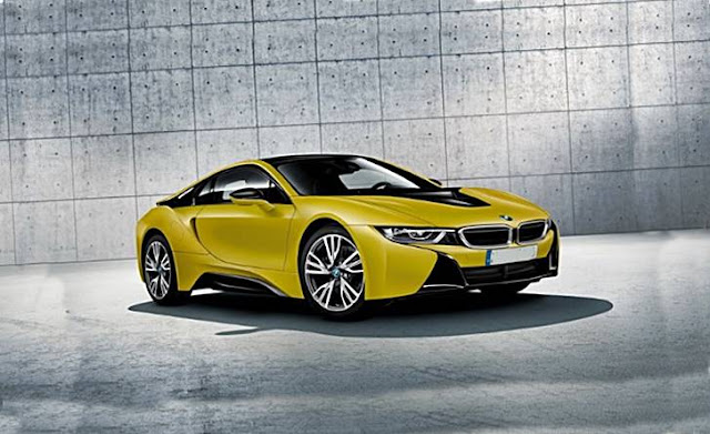 2017 BMW I8 Protonic Frozen Yellow Edition