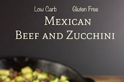 Low Cab Mexican Zucchini & Beef Skillet