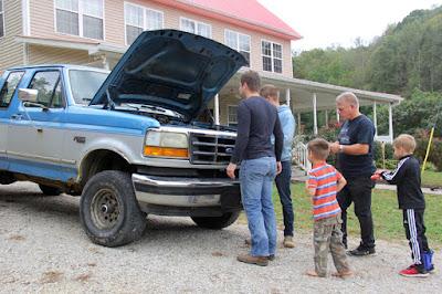 Jackson Bates truck
