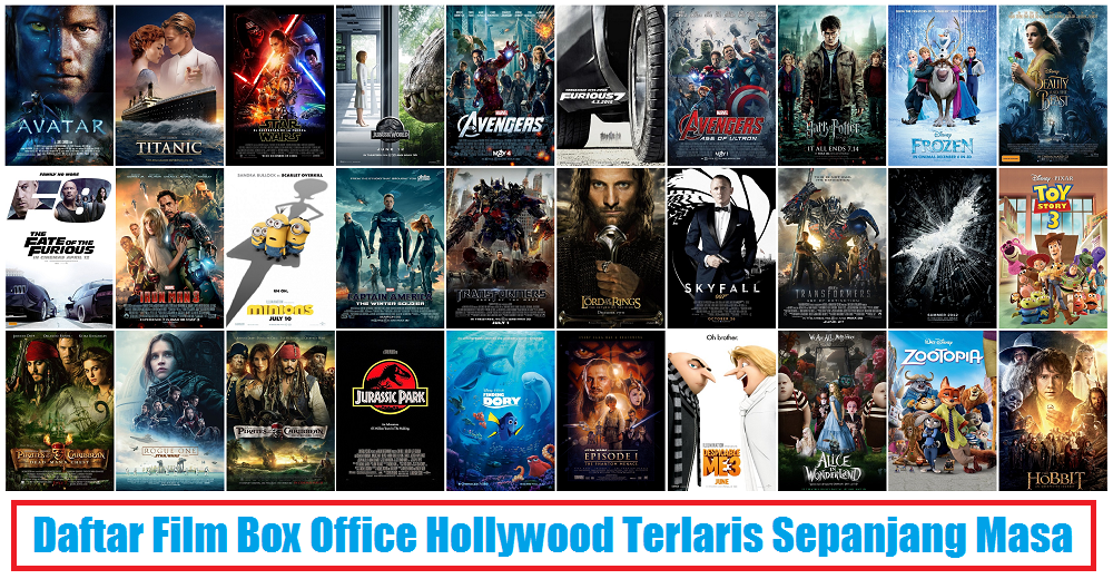 Daftar 765 film hollywood terlaris sepanjang masa box office arie pinoci - Classement film box office ...