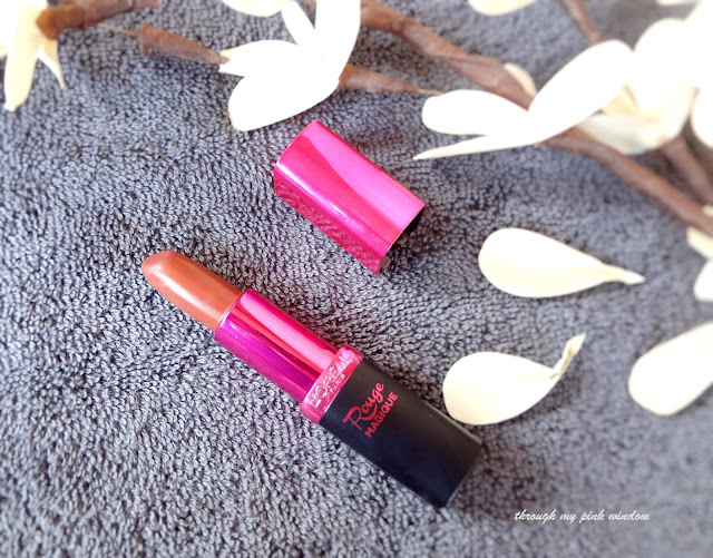 Review on Loreal Rouge Magique Intense Matte Lipsticks in shade Divine Mocha