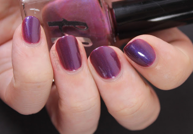 Femme Fatale Currant Wine Nail Polish Swatches & Review